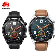Huawei zegarek GT smart Watch 1 39 GPS obsługa NFC 14 dni pracy na baterii telefon wodoodporny połączeń tętna Tracker dla androida z systemem iOS tanie tanio Kalendarz Budzik Tracker fitness Passometer Uśpienia tracker Naciśnij wiadomość Odpowiedź połączeń Kompas Wiadomość przypomnienie