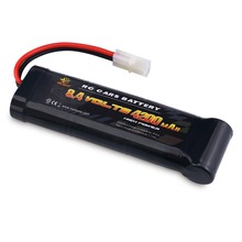 Melasta 8.4V 4200mAh 7-Cell Flat Pack NiMH Battery With Traxxas/Tamiya Discharge Plug For Remote Control Racing Cars RC Toys