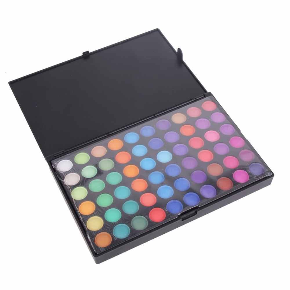 180 Full Color Natural Makeup Eyeshadow Palette Matte Shimmer Smoky Eye Shadow Palette Cosmetic Facial Makeup Palettes 3 Style магнитный браслет colantotte magtitan color palette