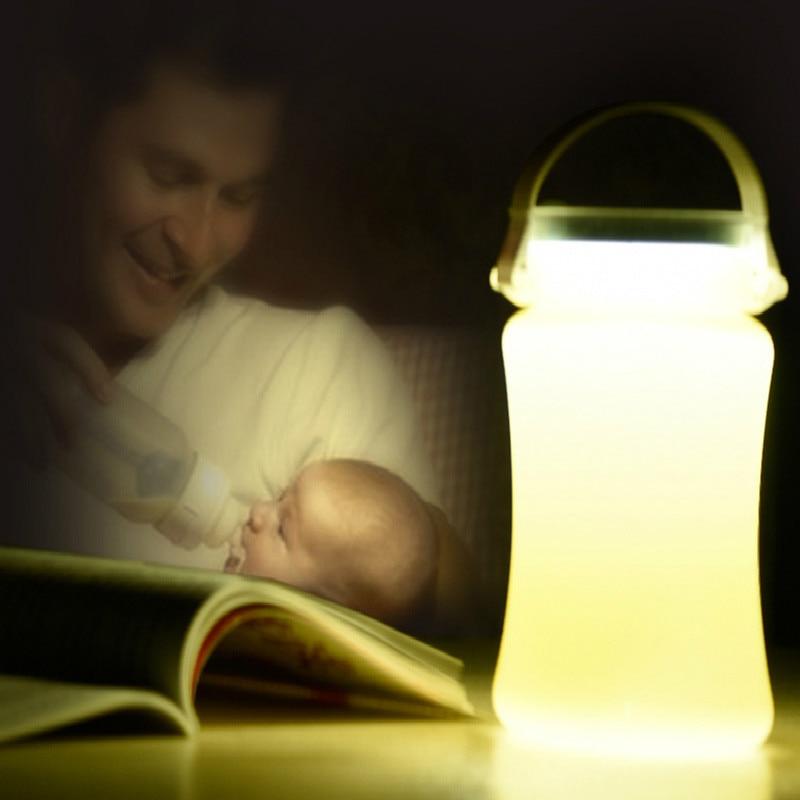 BRIGHTINWD LED Solar Tent Camp Camping Lights Portable Bedside Lamps Emergency Lights Drift Bottles Storage Tanks.