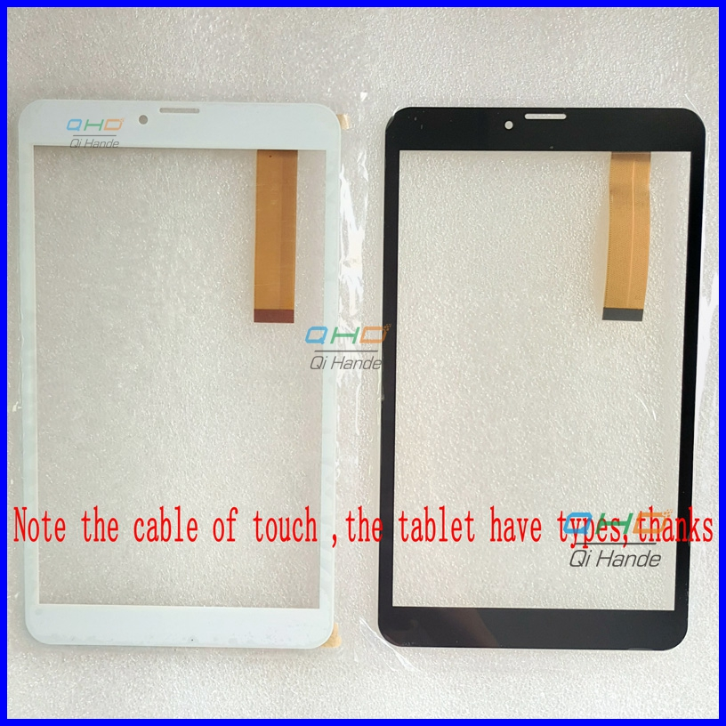 New Touch Screen Digitizer For 8 Ginzzu GT-8010 rev.2 Tablet Touch panel sensor replacement Free Shipping 10 1inch capacitive touch screen digitizer gass for ginzzu gt x831 tablet pc mid repair gt x831 gt x831 touch screen