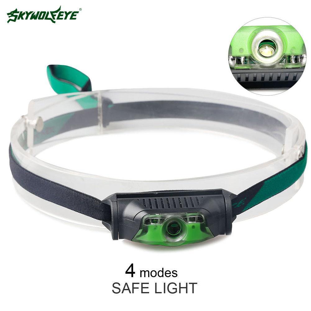 چراغهای جلو Skywolfeye چراغهای جلو سفید + LED - روشنایی قابل حمل