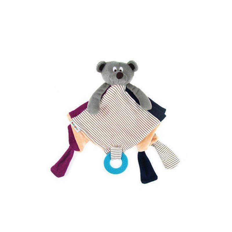 Boys' Baby Clothing Baby Pacifier Appease Soothe Towel Cute Cartoon Bear Soft Plush Nursing Stuffed Doll Infant Teether Rattles Handshake Bell Bibs & Burp Cloths