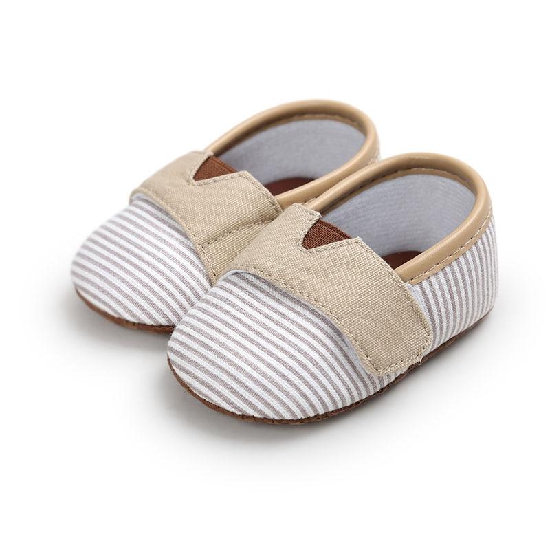 Baby Shoes Newborn Infant Baby Girl Boy Crib Brand Moccasins Canvas Bebe Toddler Soft Sole Footwear Fashion Summer2018 Wholesale