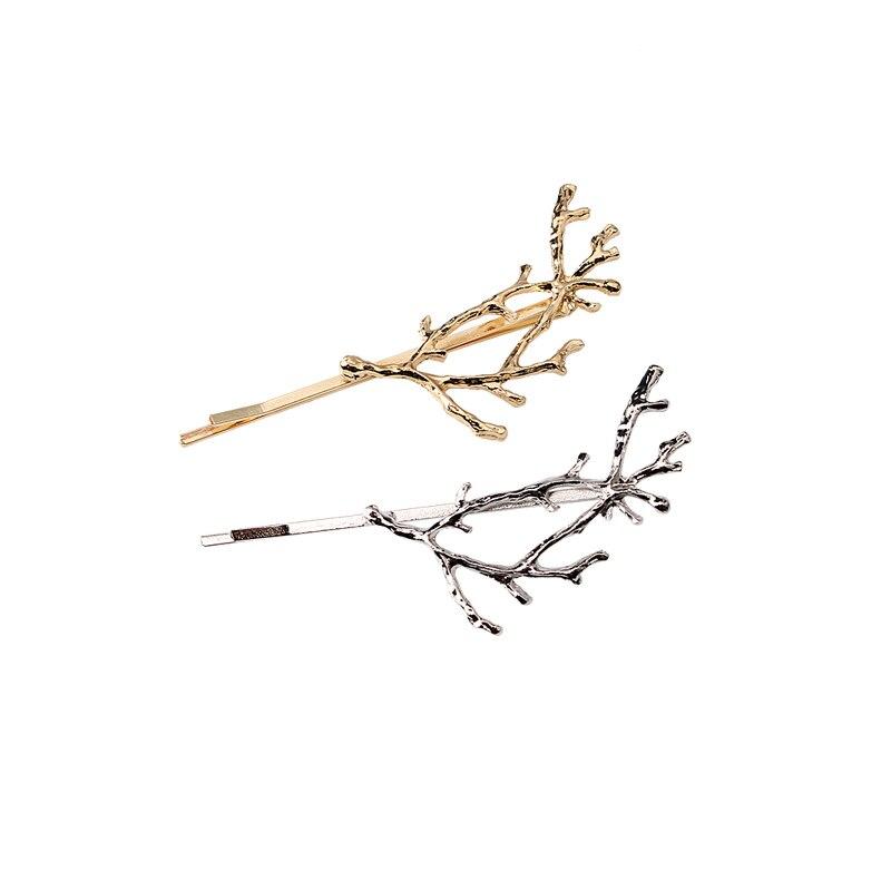 M MISM ərintisi ağac filialı Hairpins Baş geyimləri Rhinestone - Geyim aksesuarları - Fotoqrafiya 2
