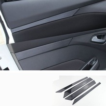 цена на Door Handle Cup Control System Automobile Decorative Upgraded Auto Car Styling Accessories Modification Covers 12 FOR Ford Focus