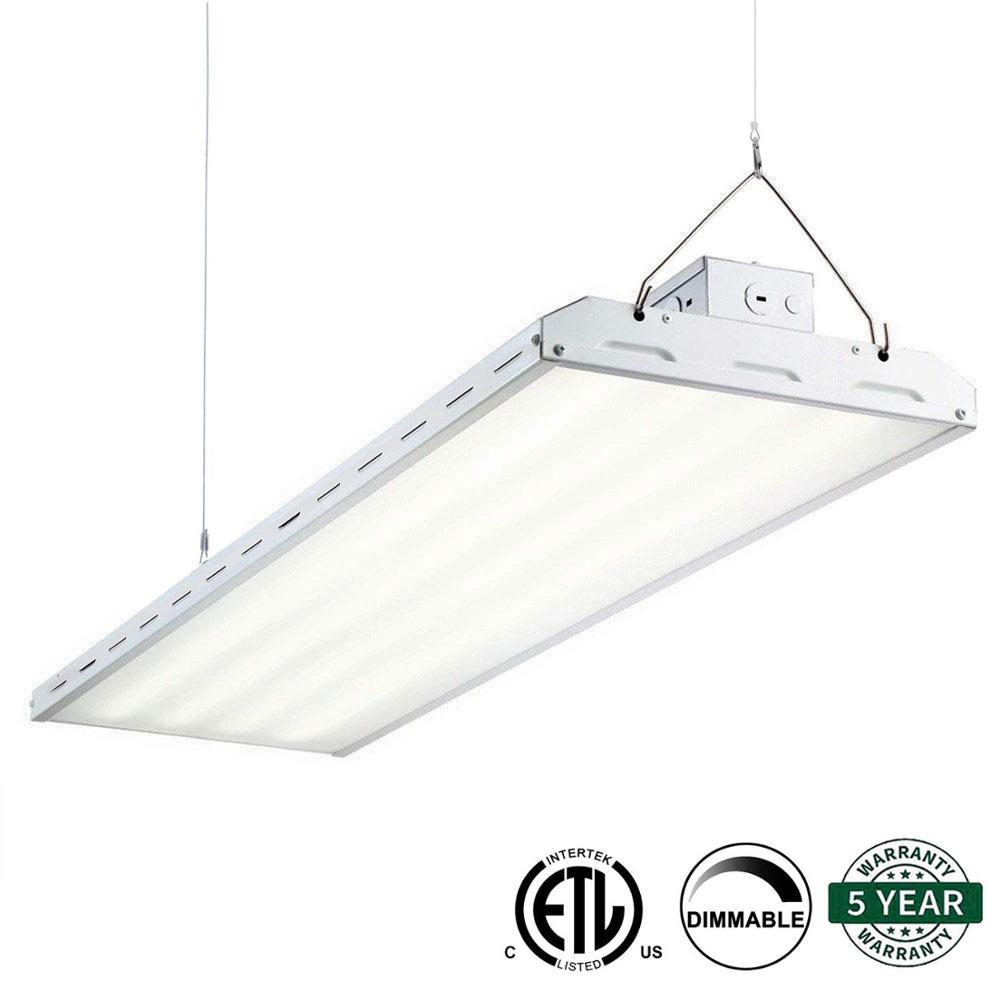 LED High Bay Lights Commercial Lighting 110W 165W 220W Industrial Lighting Workshop Warehouse Garage Light Linear High Bay LED