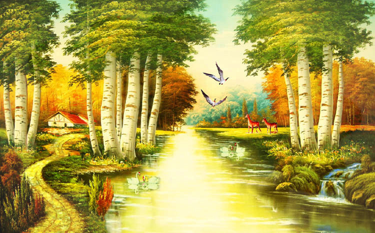 Mop Water Nature River Since The Design Of Modern
