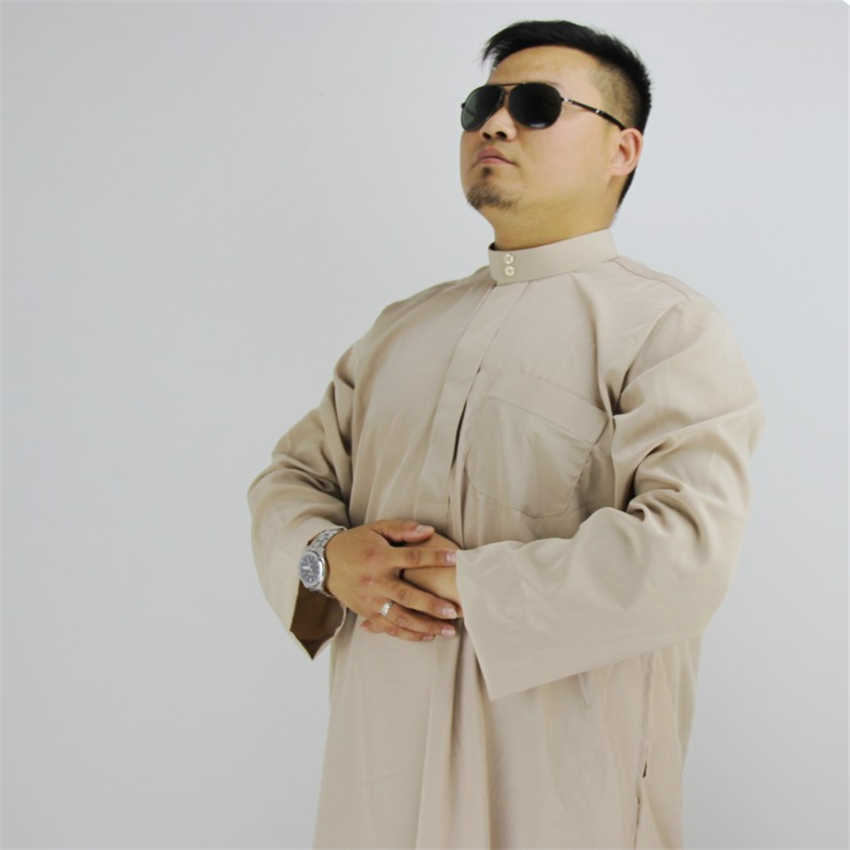 7ae6f2e0799 ... Arab Men Jubba Thobe Islamic Clothing Muslim Robes Arabic Dubai Saudi  Traditional Islam Eid-Mubarak ...