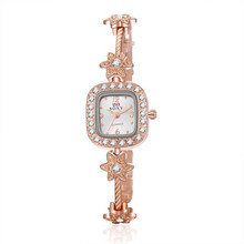 Brand Luxury Crystal Gold Watches Women Fashion Bracelet Quartz Watch Women Dress Watches Relogio Feminino orologio donna AC069