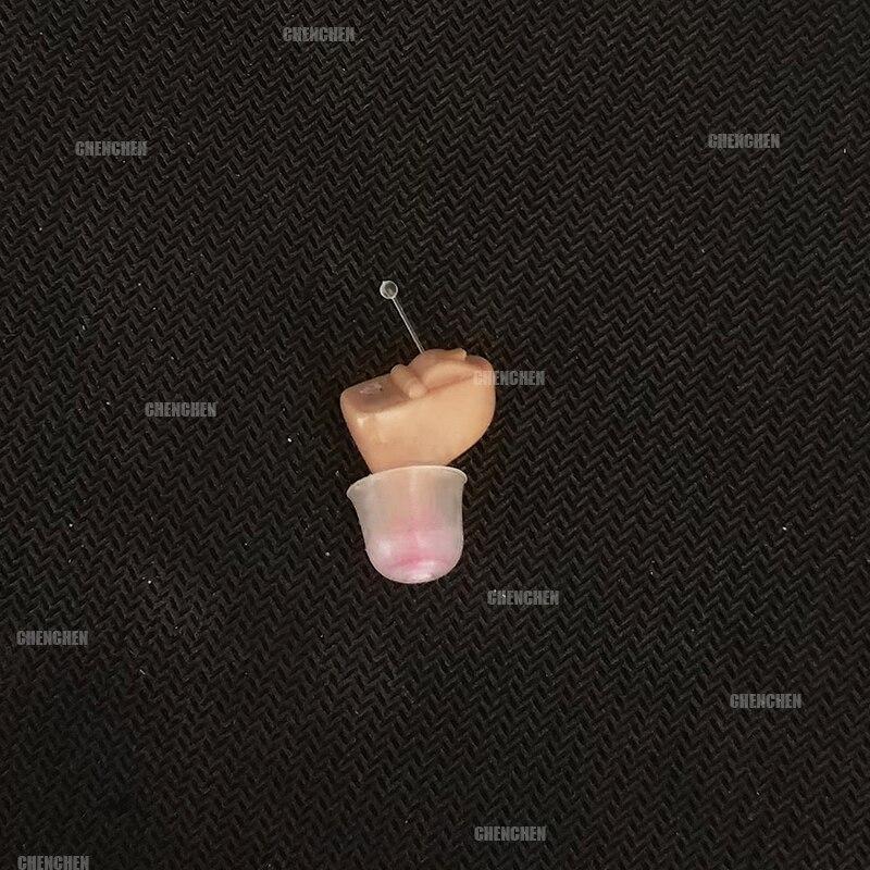 Novo cic aparelho auditivo mini amplificador de