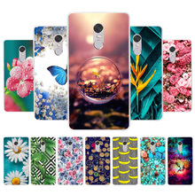 все цены на Phone Case For Xiaomi Redmi Note 5 4 4X Case Cover Coque For Xiaomi Redmi Note4 Note4x Note5 Pro Cases Silicone + Tempered Glass
