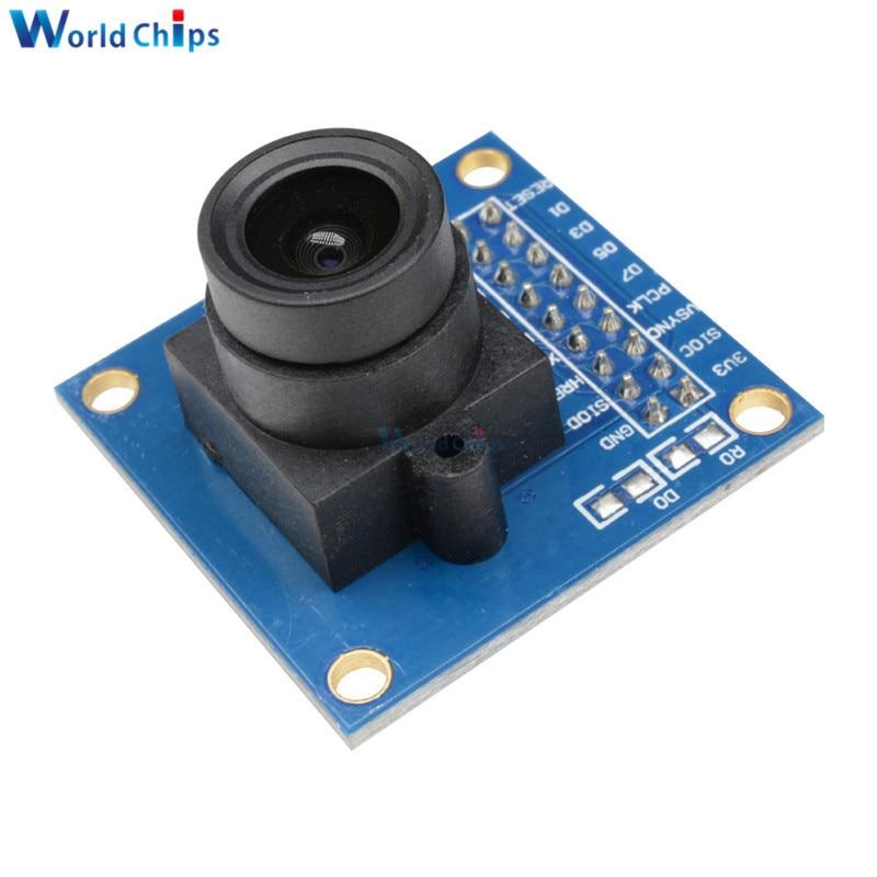 Camera Module OV7670 OV7725 OV2640 OV7670 with FIFO CAM Module Image Sensor STM32 Supports VGA CIF JPEG 30W For Arduino Ponis-Limos