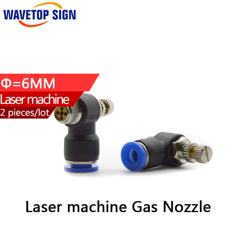 Laser  machine  gas nozzle Laser  machine air Regulating   scew 6mm nuts 6mm free shipping 2pcs/package mig mag burner gas burner gas linternas wp 17 sr 17 tig welding torch complete 17feet 5meter soldering iron air cooled 150amp