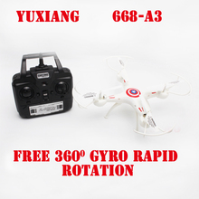 YUXIANG 668 A3 2 4G 4CH 6 Axis Speed Switch With 3D GYRO Rapid Rotation RC
