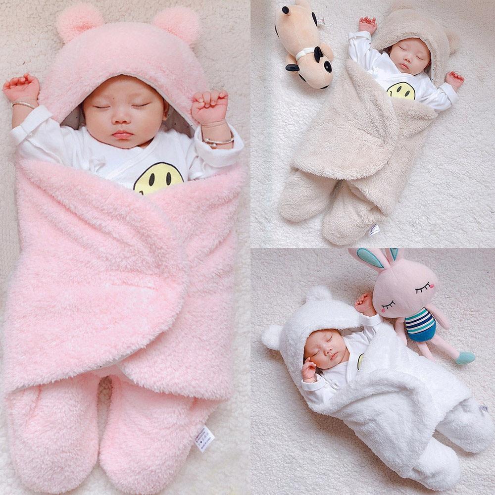 2018 New Fashion Sleeping Blanket Cute Newborn Baby Cute ...