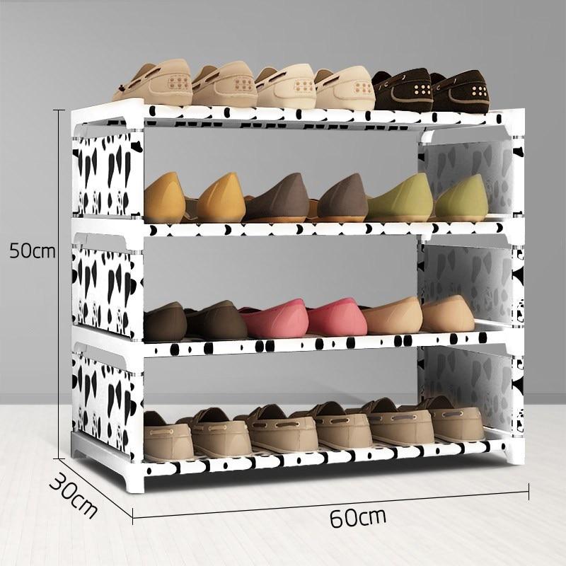 Yeni ayakkabı raf Dört kat ayakkabı raf almak 50 cm yüksek erkek - Mobilya - Fotoğraf 4