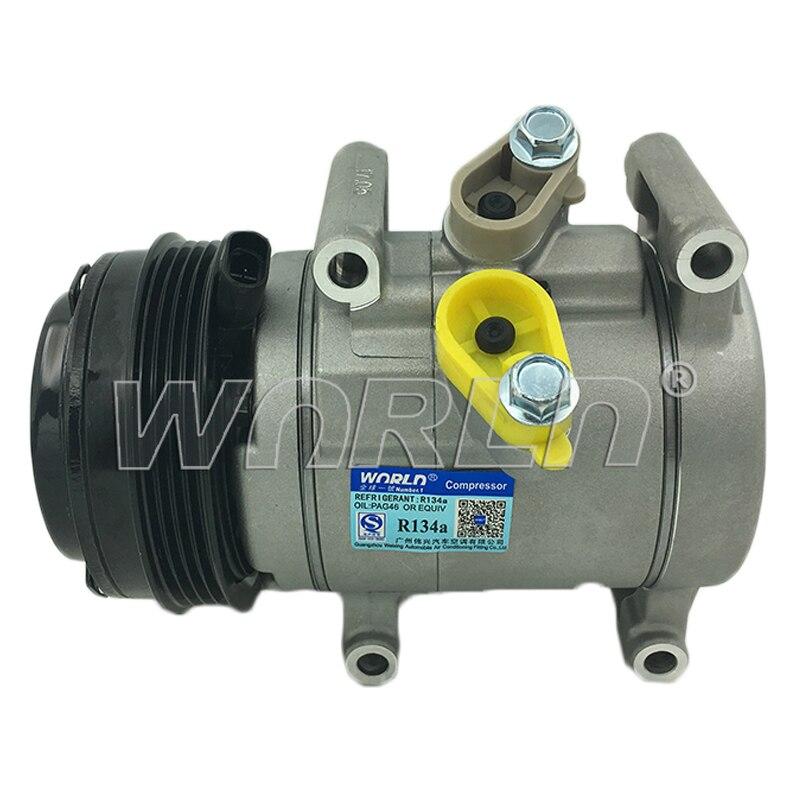 Авто ac компрессор для Chevrolet Spark/бить M300 hyundai I20 95967303 95967303 96676470 96073851 12302047 720960