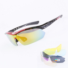 Polarized Cycling Sunglasses MTB Mountain Bike Goggles Outdoor Sports Sunglasses For Fishing Driving Climbing 5 Lens Women Mens