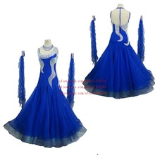 Modern Waltz Tango Ballroom Dance Dress, Smooth Ballroom Dress,Standard Ballroom Dress Girls B-0011