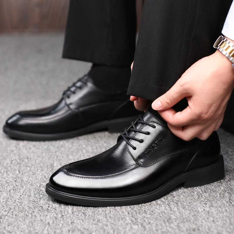 Bureau Hommes En Formelles Social Mens Classique Chaussures Mâle Cuir Élégant Véritable Luxe 2018 Nouveau Noir De Robe Oxford 1xZ5SwRq