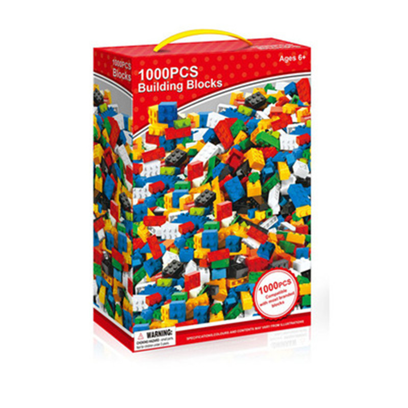 1000pcs And 500pcs Diy Building Blocks Set City Creative With Educational Bricks Compatible With Legoingly Toys For Children 1000pcs bulk bricks educational children toy compatible with major brand blocks 10 colors diy building blocks creative bricks