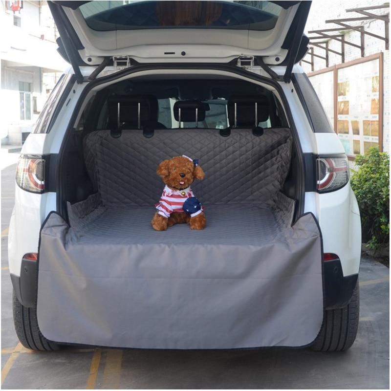 Водонепроницаемый Оксфордский чехол для переноски домашних животных чехол для на автомобильное сиденье для перевозки собак коврик для баг...