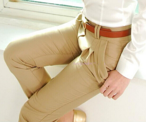 Image 4 - New Fashion Spring Summer Autumn Women Pants High Waist Casual  Pants Ladies Elegant Silm Plus Size Pants Womenpants classicpants  nylonpant pants