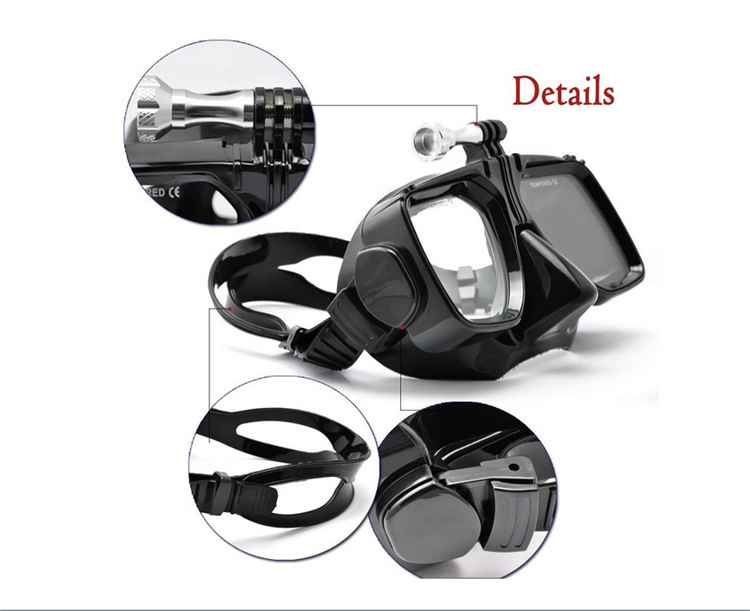 glass swimming goggles  Aliexpress.com : Buy Camera Mount Tempered Glass Lens Adult Dive ...