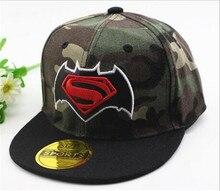 Czapka Snapback Dziecko Superman Spiderman Moro Marvel