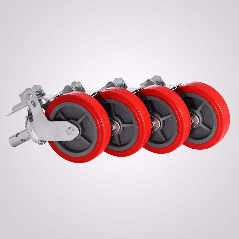 "Caster Wheel HEAVY DUTY Scaffold 8/"" X 2/"" Polyurethane Caster Wheel Scafolding"