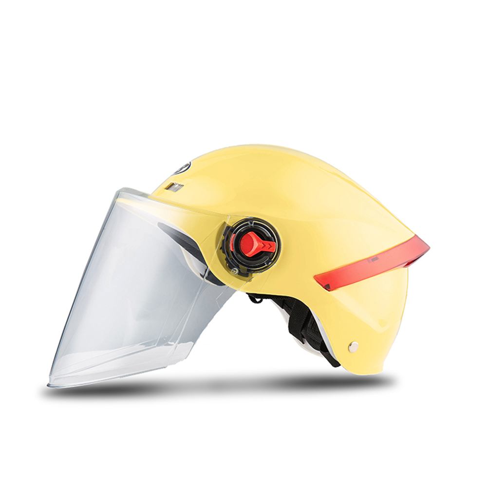 2 Sunscreen Lens Motorcycle Helmet Half Cover Electric Scooter Daily Vehicle Riding Racing Motorbike Headwear Unisex 53 63cm in Helmets from Automobiles Motorcycles