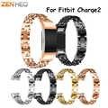 المعادن حزام ل fitbit تهمة 2 الفرقة حزام صف مزدوج كاوبوي سلسلة الفولاذ المقاوم للصدأ سوار ل Fitbit charge2 الفرقة الأساور