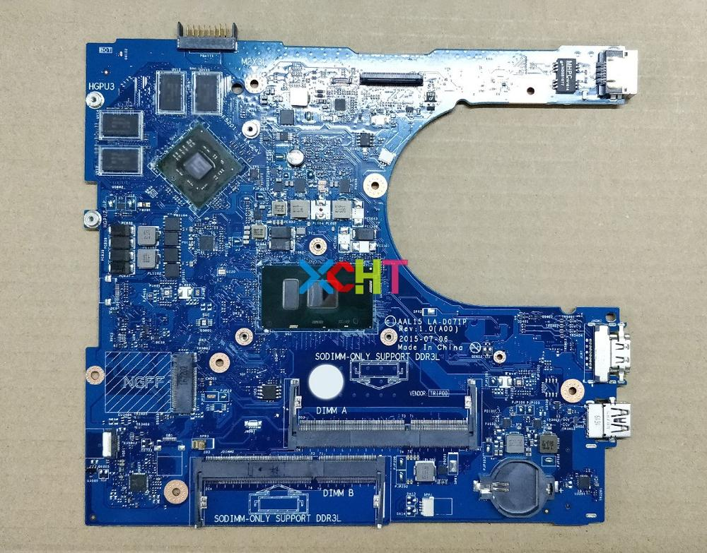 for Dell Inspiron 15 5559 YVT1C 0YVT1C CN 0YVT1C AAL15 LA D071P i7 6500U R5 M335 4G Laptop Motherboard Mainboard Tested-in Laptop Motherboard from Computer & Office
