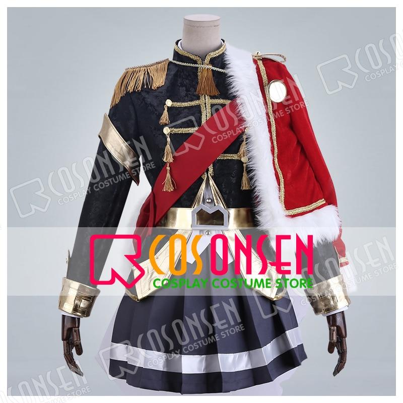Shoujo Kageki Revue Starlight Tendo Maya Uniform Cosplay Costume new Full Set All Sizes COSPLAYONSEN adult
