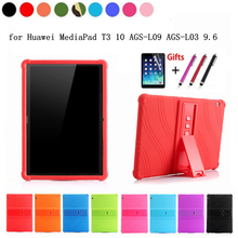 Case for Huawei MediaPad T3 10 AGS-W09 AGS-L09 AGS-L03 9.6 Ultra Thin Colorful Silicone+PC Cover For Huawei Honor Play Pad 2 9.6 аэрогриль supra ags 1242