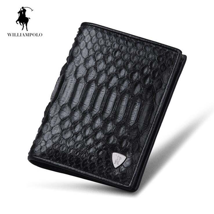 2018 Python skin Men wallet Multicard Genuine Leather wallets Corss Pattern Men free freight python skin handmade men wallet multicard genuine leather coin purse corss pattern men wallet