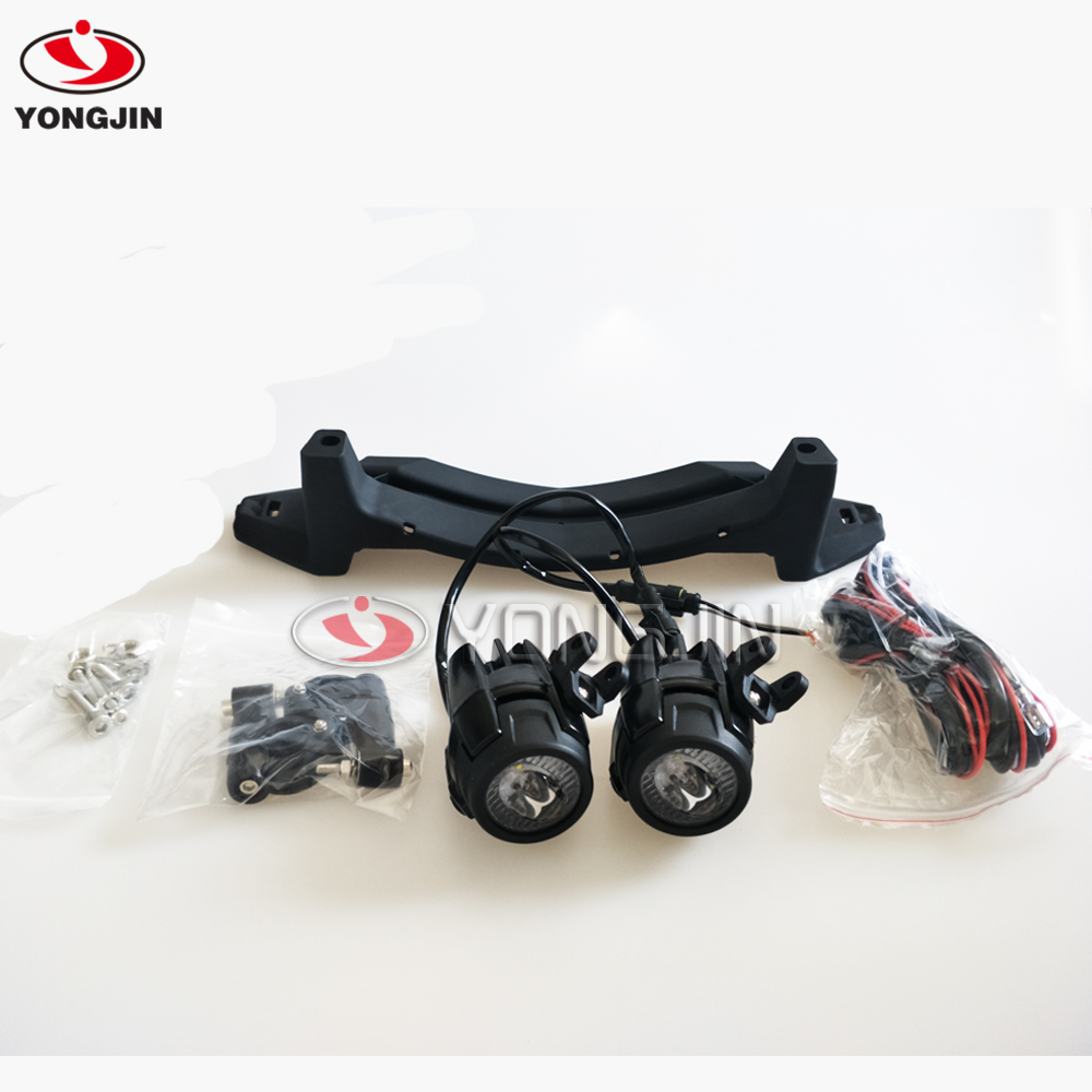 Led light bar wiring harness kit v a extension wire