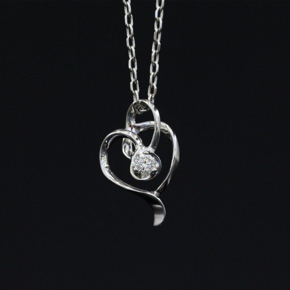 Halo 0.084CT 18k Gold Round Cut Square Center Pave Set Natural Diamond Pendant Necklace Chain Women Fine Jewelry