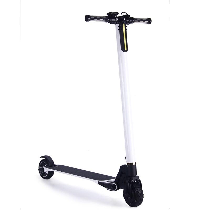5 pouce électrique scooter 2 roue électrique planche à roulettes fold permanent hoverboard En alliage D'aluminium scooter rapide vitesse hover bord