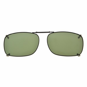 Image 3 - C75 Eyekepper Grey/Brown/G15 Lens 3 pack Clip on Polarized Sunglasses 51x36MM