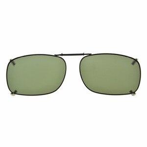 Image 3 - C75 eye kepper gris/marron/G15 lentille 3 pack lunettes de soleil polarisées à clipser 51x36 MM