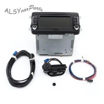 YIMIAOMO RCD510 autoradio USB Image arrière caméra Code et rvb vue arrière caméra Kit pour VW Jetta Golf Polo Passat Tiguan 56D035190A