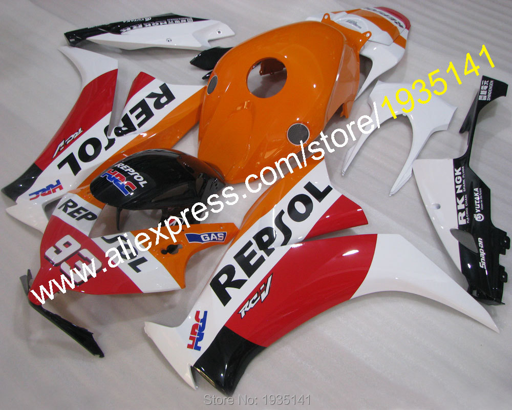 Hot Sales,Repsol 93 kit For Honda CBR1000RR 2012 2013 2014 CBR 1000RR CBR1000 RR sportbike bodywork Fairing (Injection molding) hot sales best price for yamaha tmax 530 2013 2014 t max 530 13 14 tmax530 movistar abs motorcycle fairing injection molding