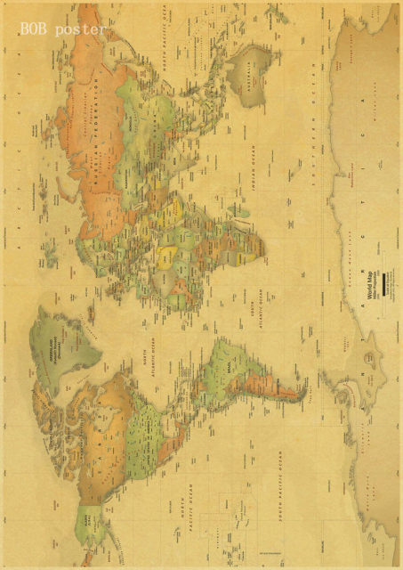 Online shop vintage poster ancient old city world maps middle earth image gumiabroncs Image collections