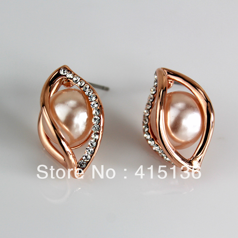 Simple Com  Buy New 2013 Design Crystal Dangle Earrings Jewelry For Women