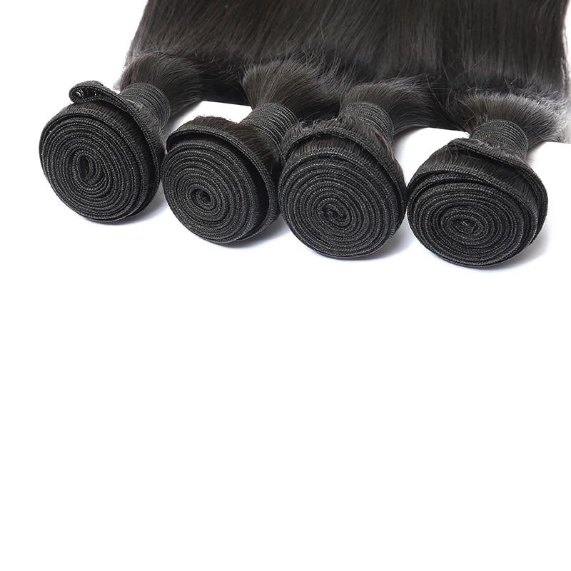 Barangan Rambut Brazil Lurus Rambut Lurus Berus Rambut Tawaran Produk - Rambut manusia (untuk hitam) - Foto 6