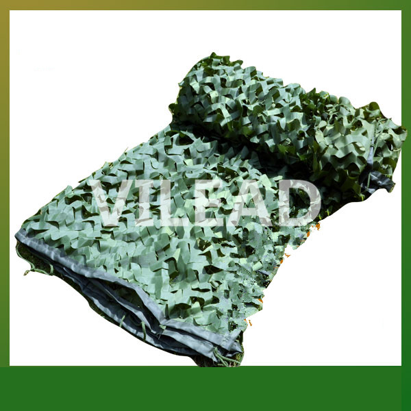 VILEAD 3M*10M Surplus Camouflage Netting Green Camo Netting Camping Sun Shade Camo Tarp Army Tarp Hunting Shelter Filet crew neck camo print tees in army green