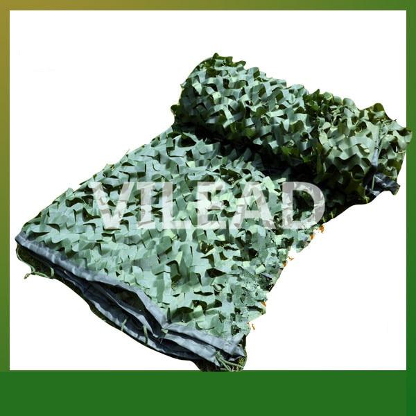 VILEAD 3x10M Surplus Camouflage Filet vert Camo Filet Camping ombre Camo bâche armée bâche chasse abri Filet