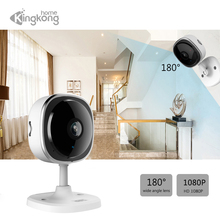 Kingkonghome 1080P Video Surveillance Mini IP Camara Indoor IR Night Vision WiFi Wide Angle font b